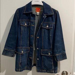 Isaac Mizrahi denim jacket